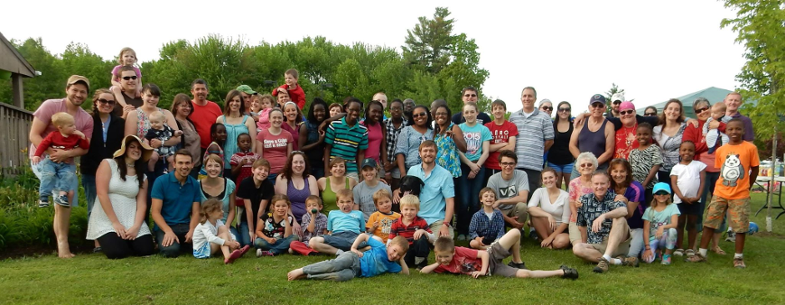 Here's the group from our 2015 BBQ Potluck.